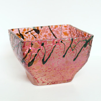 Pallme-König Iridescent Bowl, c.1900 - Art Glass