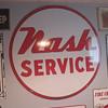 "Nash Service double sided porcelain 42"" mint"