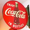 1954 Coca-Cola Flange Sign