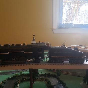 marx 1666 smoking train - Model Trains