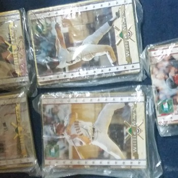 My one of A kind 1994 Willie Mays Cooperstown  Collection 5 card set with a Unreversable error on Card #3