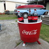 Coca Cola esky cooler picnic table.