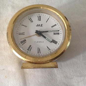 1960's-1970's French Jaz travel alarm clock. - Clocks