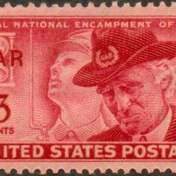 "1949 - ""G.A.R. Issue"" Postage Stamp (US) - Stamps"