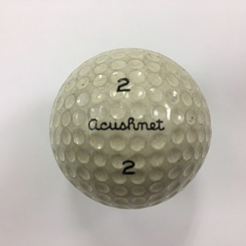 1960s/70s Acushnet Club Special 2 Golf Ball (Titleist Before it was Titleist - Sporting Goods