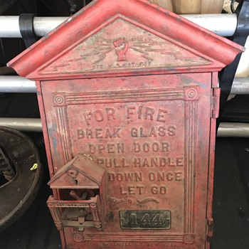 Early fire alarm box  - Firefighting