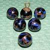 """Glass Waistcoat Ball Buttons - 7/16"""""""