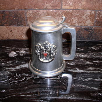 Tankard from Harvard part of Hauentein beer family collection - Breweriana