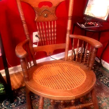 Rocking Chair with cane seat - Furniture