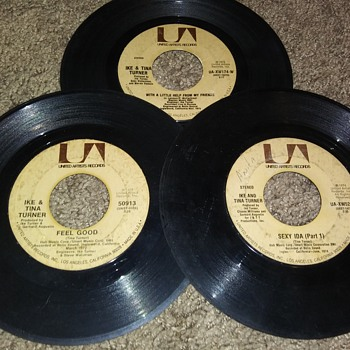 45 RPM SINGLE(S)....#78-#80 - Records