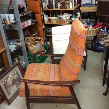 Thayer Coggin Milo Baughman Recliner - Furniture