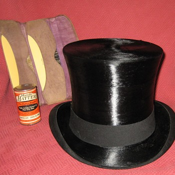 Dunlap & Co. N.Y.  Silk Top Hat - Hats