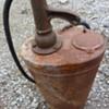 Vintage Garage Forecourt Oil Dispenser Pump