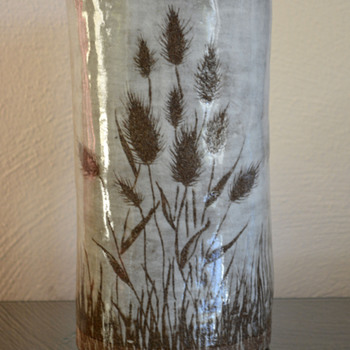 Art Pottery Flower Vase - Pottery
