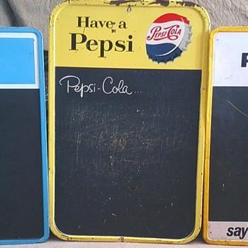 Pepsi Menu Boards