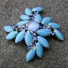 Mystery Brooch - Delizza Elster Style