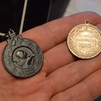 War medals from Finland - Military and Wartime