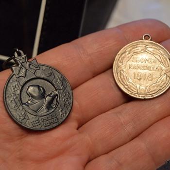 War medals from Finland