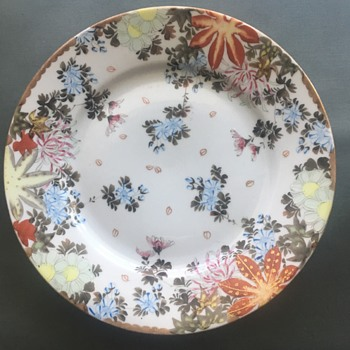 Vintage Oriental Plate - China and Dinnerware