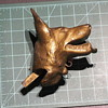 Metal German Shepherd Head