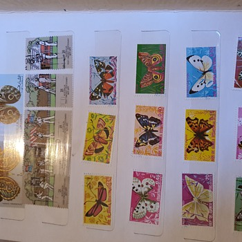 Australian and other country stamps - Stamps