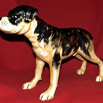 "Cast Iron Staffordshire ""Staffy"" Terrier - Animals"