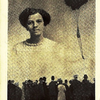 Dorothy DeVonda - Woman Balloonist - Postcards