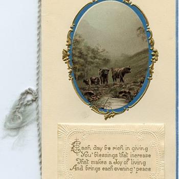 Personalized Christmas Card 1924 & 1925 calendar