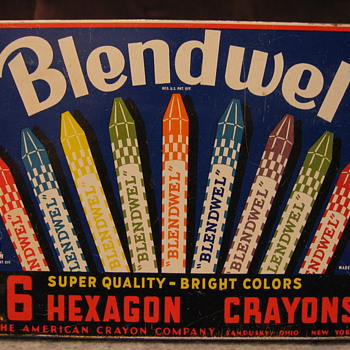 Blendwel Crayon Tin - Advertising