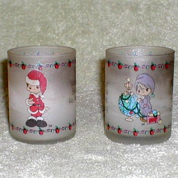 Christmas Votive Candles - Precious Moments - Christmas