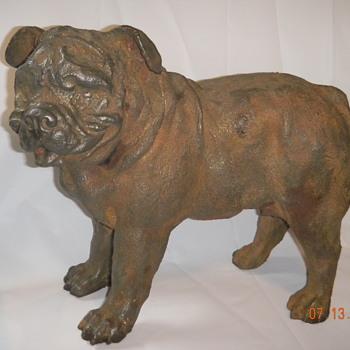 Cast iron Old English Bulldogge - Animals