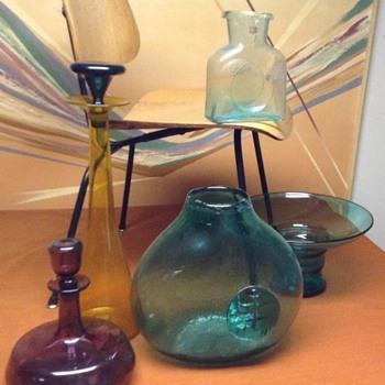 Blenko love - Art Glass