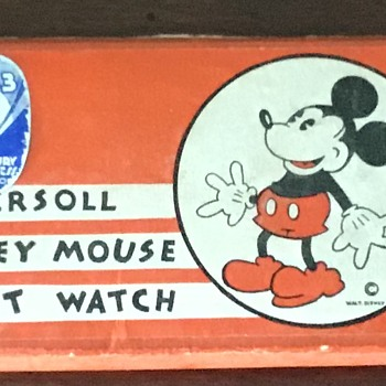 1933 Chicago Worlds Fair 1st Mickey Mouse wristwatch  - Wristwatches