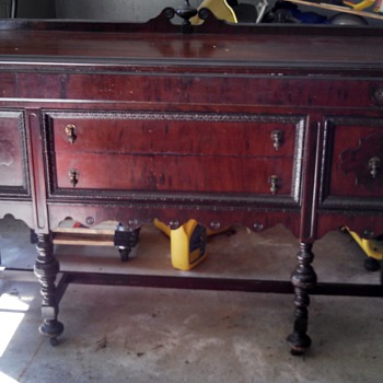 1920s buffet project - Furniture