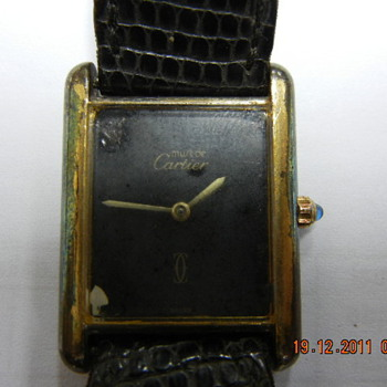 Cartier Tank Quartz Wristwatch - Wristwatches