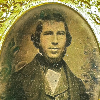 Daguerreotype Southern Politician Document in Vest. Georgia Estate  - Photographs