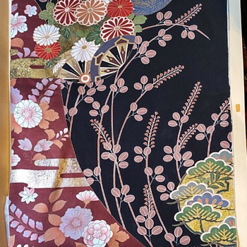 Japanese Silk Panel #2 - Asian