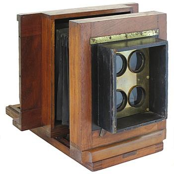 1860s Carte de Visite Studio Camera - Cameras