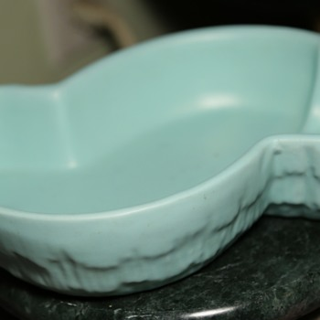 Baby Blue Haegar Console Bowl - Pottery