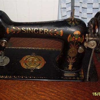Singer serial number F8840834 - 1919 Australia