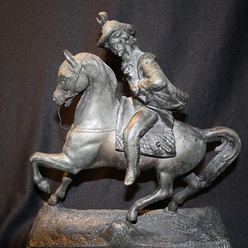 General Custer Statue Signed Metropolitain New York 1900 - Victorian Era