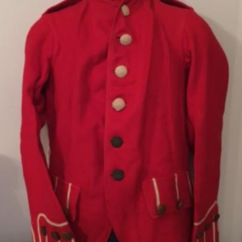 Pre-WWI Unissued Highland Regiment Patrol Frock - Military and Wartime