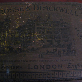 Crosse and Blackwell Tin