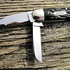 Rare Case Tested 1920-40 Rough Black Equal End Cattleman Knife 6345 minty.