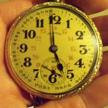 Illinois 17J  - Pocket Watches