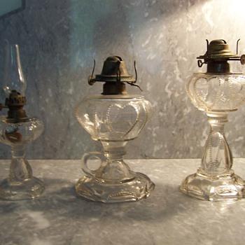 Sweethart or Queen of Hart Oil Lamps - Lamps