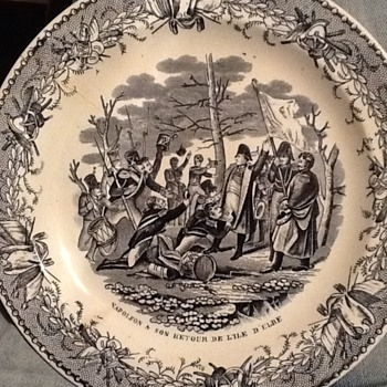 Porcelain plate - China and Dinnerware