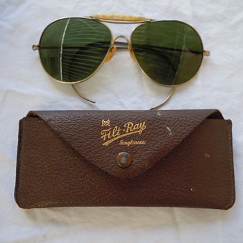 Filt-Ray Sunglasses -- Aviator Style / Did Ray Ban copy these?