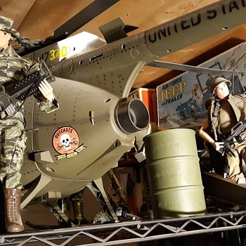 Soldiers of the World 60 Gallon Oil Drum Diorama Accessary 1/6 Scale - Toys