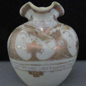 Imperial Seto Yaki Okan porcelain vase, 1940s - Asian